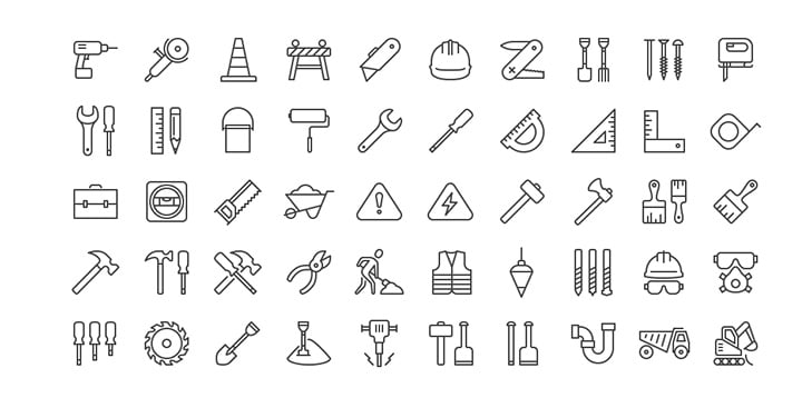 free-ios-construction-icons