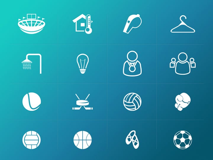 sport-related-icons-pack