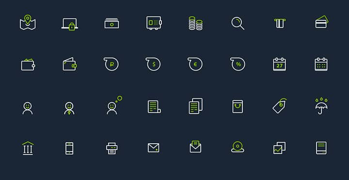 Banking-icon-set-free-PSD