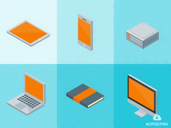 Isometric Material Icons