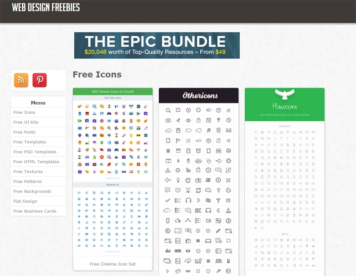Web Design Freebies