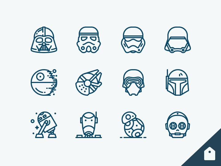 Icones Star Wars