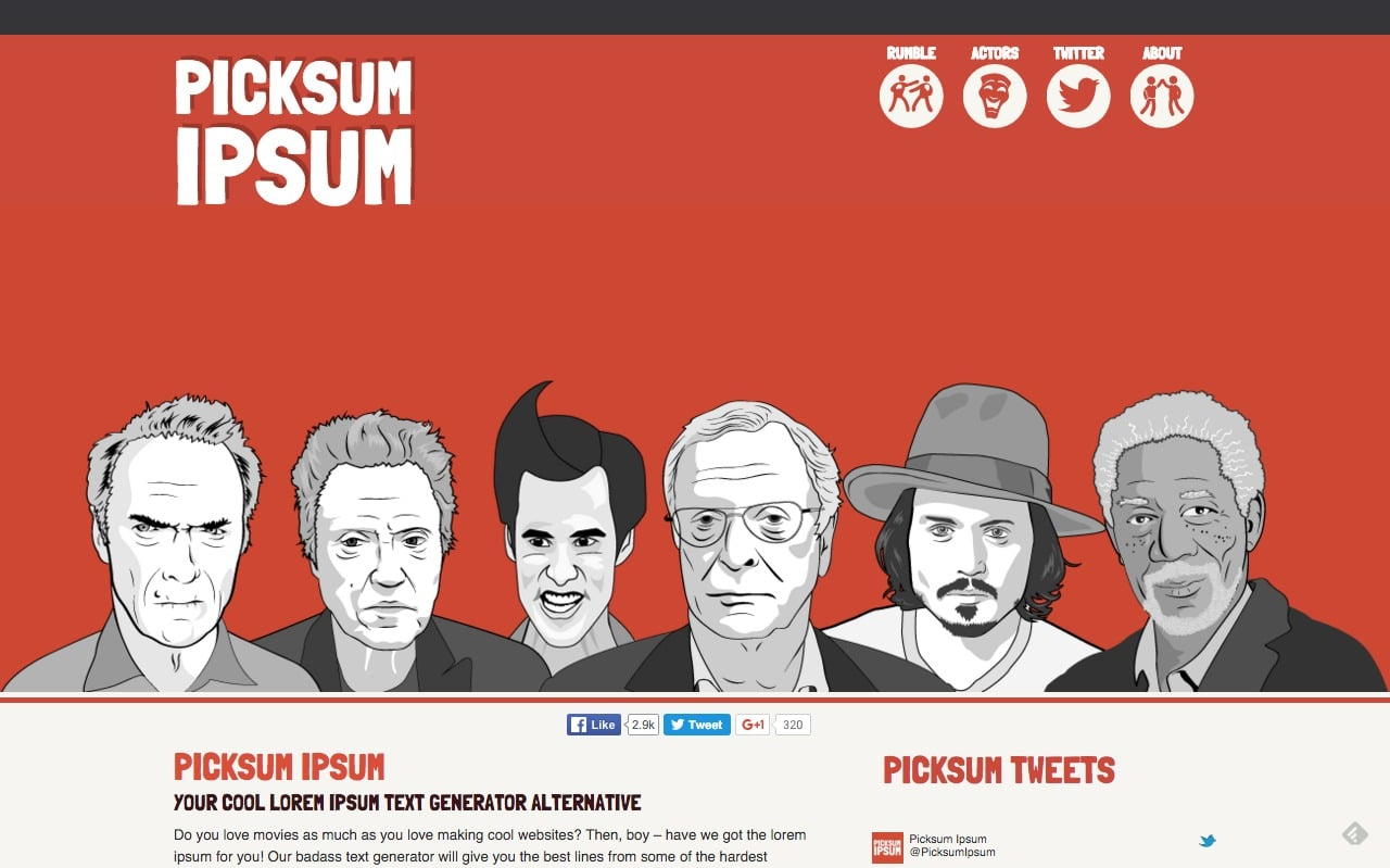 picksumipsum