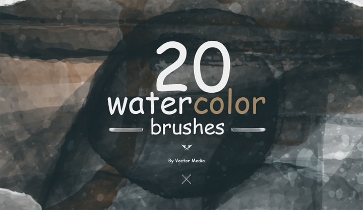 brushes-aquarelle-encre
