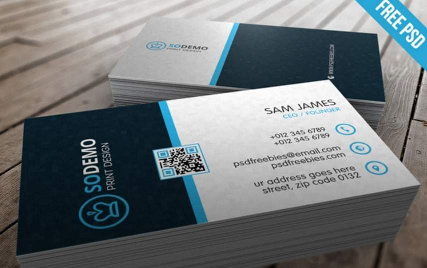 31 free business cards psd templateo reheart Choice Image