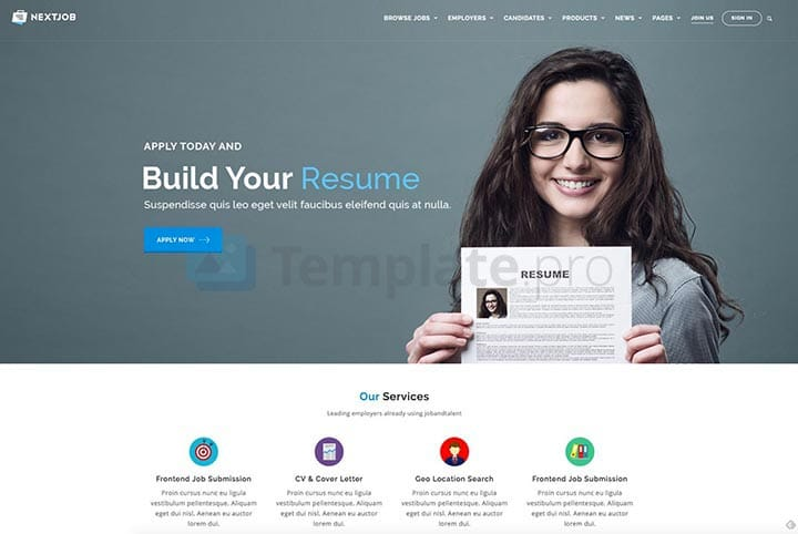theme wordpress job board 4