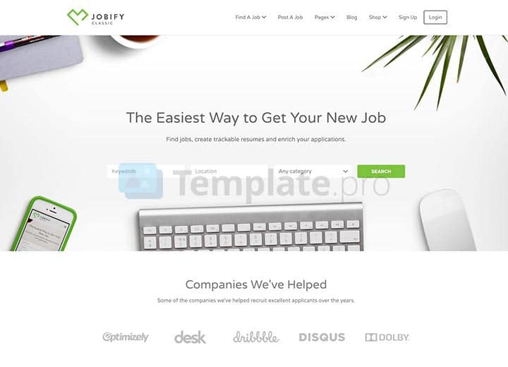 theme wordpress job board 5
