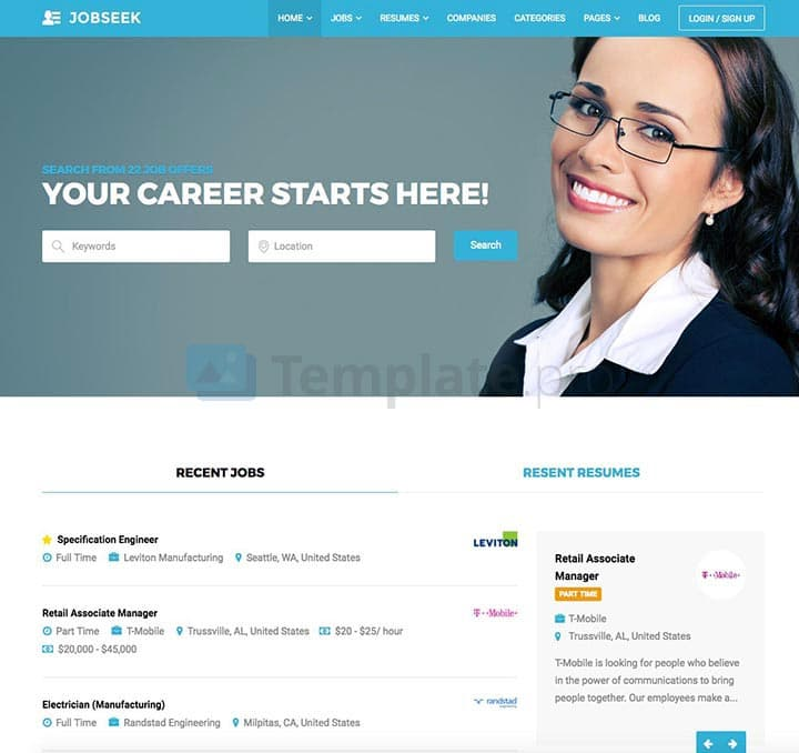 theme wordpress job board 8