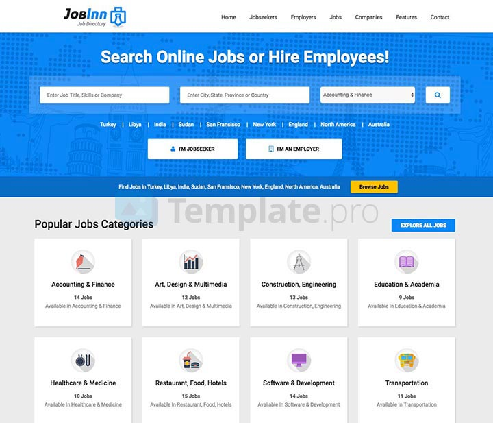 theme wordpress job board 9